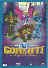 Gormiti dvd-volume 2 - the lords of nature - 5 episodes