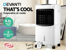 Devanti Evaporative Air Cooler Portable Fan Conditioner Cooling Touch Pad Remote