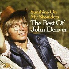 John Denver - Sunshine On My Shoulders - Best Of  * NEW 2 x CD * (Greatest Hits)