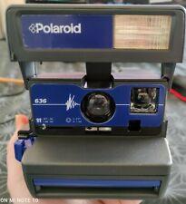 Polaroid 636 Sofortbildkamera Das Orginal