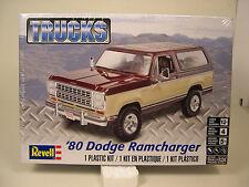 1980 DODGE RAMCHARGER TRUCKS SERIES REVELL 1:24 SCALE PLASTIC MODEL KIT