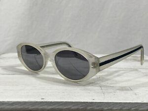 Fendi FS 238 Silver Snow Womens Oval Sunglasses Translucent Frame 50▯19-135