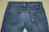 Current / Elliott Easy Stiletto Skinny Jeans Women's Sz 24 In Love Destroy Wash
