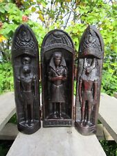FairTrade Hand Made Carved Resin Egyptian Pharaoh Gods Anubis Horus Ornament Box