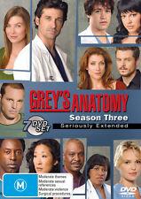Grey's Anatomy: Season 3 * NEW DVD * (Region 4 Australia)
