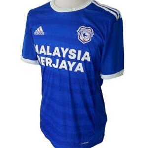 CARDIFF CITY FC Adidas Home Football Shirt 2020-2021 NEW Men's Soccer Jersey