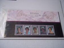 Diana Commemorative stamp folder - 5 stamps. Sealed in original package.