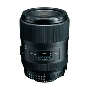 Tokina atx-i 100mm f/2.8 FF Macro Lens For Nikon F Multi-Layered Coating