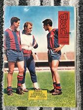 1962 FAIRS CUP FINAL Barcelona v Valencia (DICEN PREVIEW EDITION VERY RARE)