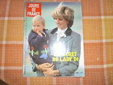 LADY DI / 1 JOURS DE FRANCE + 1 PARIS MATCH / 2 numéros en bon état