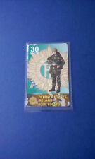 Officailly Issued Defence Forces Ireland Army Phonecard Irish Military Callcard