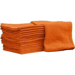 Auto Mechanic Shop Towels, Shop Rags 100% Cotton Commercial Grade for Cleaning