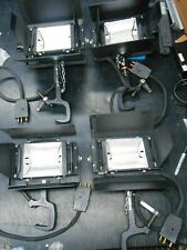 Four (4) Matthews Studio Equipment Lights Lamps w/ Grip Baby Pipe Clamps Cables