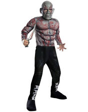 Kids Drax Guardians Galaxy Muscle Costume L Age 8-10 Height 142-152 cm