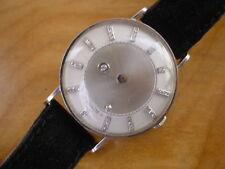 Vintage Vacheron Constantin - LeCoultre Galaxy 14K White Gold,37 Diamond Dial