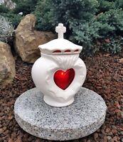 Engel Grablaterne Grablampe Grableuchte  Grablicht Schutzengel Kerze Figur Blume