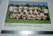CLIPPING POSTER FOOTBALL 1988-1989 LE MANS UNION CLUB MUC 72