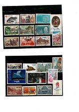 50 Franse postzegels gediend van verschillende jaren groot formaat