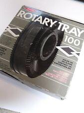 Sawyer Rotary Tray 100 Holds 2x2 Gaf Sears Wards Rotomatic