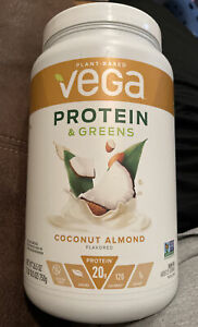 Vega Protein and Greens Coconut Almond Plant Based Protein Powder 20g Protein