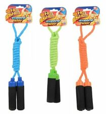 Kids Skipping Rope With Soft Handle Exercise Jumping Game Fitness UK Stock