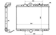 NRF Radiador, refrigeración del motor CITROEN C5 PEUGEOT 607 58351