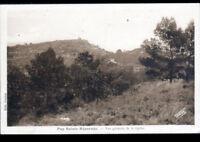PUY-SAINTE-REPARADE / LA QUIHO (13) Restes du CHATEAU FORT en 1939