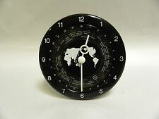 Vintage Modern Eames Era Retro Battery World Time Clock (A5)
