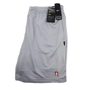 Nike Stanford Cardinal Football Shorts Gray On Field Standard Fit Mens Size XXL