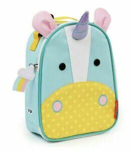 Skip Hop Unicorn Eureka Zoo Lunchie Insulated Lunch Bag NEW Kids Lunch Box Blue
