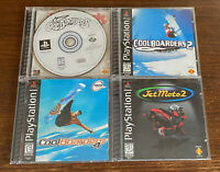Cool Boarders 1 2 4 Jet Moto 2 Lot Sony PlayStation 1 PS1 Bundle Fast Shipping