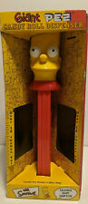 Used Giant Bart Simpson Talking Pez with Original Box
