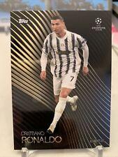 2020-21 Topps UEFA CRISTIANO RONALDO UCL JUVENTUS KNOCKOUT SET CARD 37 PR: 9072!