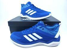Mens Adidas Speed Trainer 4 Turf Shoes Blue White CG5139 Baseball Softball 10.5