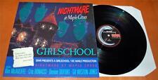 Girlschool - Nightmare At Maple Cross - 1986 UK Vinyl LP