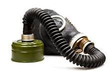 Gas Mask GP5 Black Russian Soviet Military Vintage USSR NEW With Hose BAG