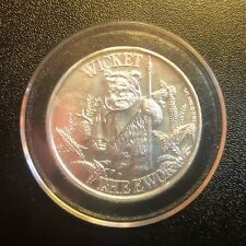 WICKET Ewok Coin Vintage Star Wars POTF Coin 2 1984 Power of the Force