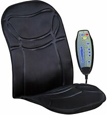 Heated Back Chair Cushion Car Seat Home Pad Pain Lumbar Neck Shoulder Massager.