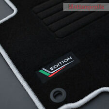 Velours Edition Fußmatten für Skoda Octavia II 1Z Kombi Bj.2004 - 2013 oval silb