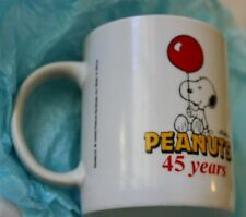 Peanuts Snoopy 45 Years Friendship Mug Hungry Jacks Friend You Count On Dear Mom