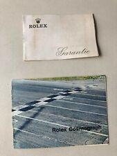 Rolex KIT DAYTONA  IN TEDESCO PER 6263 6263 - GARANZIA E BOOKLET LIBRETTO