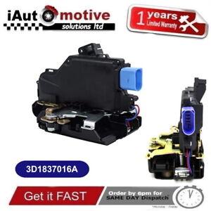 FRONT RIGHT MECHANISM 3D2837016A LHD PASSENGER SIDE DOOR LOCK FOR VW GOLF MK5