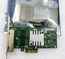 IBM 49Y4242 Intel I340-T4 Quad Port PCIe Gigabit Ethernet NIC networking card