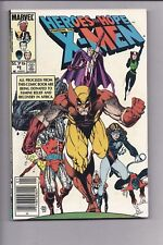 High Grade Canadian Newsstand Edition $1.75 Price Variant X-Men Heroes for Hope