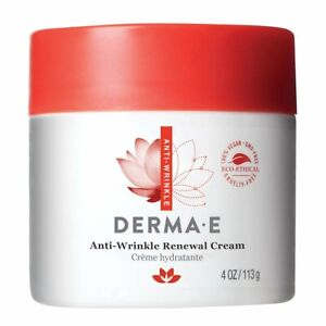 DERMA E Anti-Wrinkle Renewal Cream 4 oz - Without Box - Exp 6/22