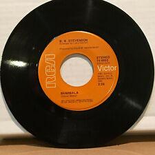 B.W. Stevenson Shambala / My Feet Are So Weary 45 RPM Vinyl VG+