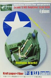 Kamizukuri 1/48 Aircraft Seat belts set - WWII USA Standard