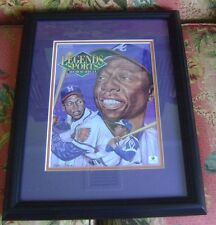 Hank Aaron HOF autograph JSA Legends Sports Braves framed FREE SHIPPING
