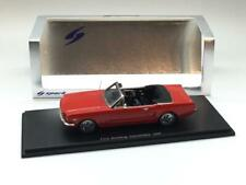 SPARK FORD MUSTANG CONVERTIBLE 1966 RED S2639 1/43