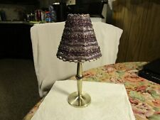 "GORGEOUS~Metal Tea Light Candle Holder Lamp ~10-3/4"" TALL!!"